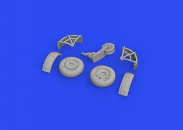 Z-37A - Wheels [Eduard] · EDU 672247 ·  Eduard · 1:72
