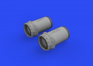Tornado GR.1 - Exhaust nozzles [Revell] · EDU 672270 ·  Eduard · 1:72
