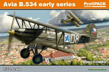 Avia B-534 early series - Dual Combo - ProfiPACK Edition · EDU 70103 ·  Eduard · 1:72