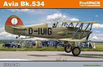 Avia Bk-534 - ProfiPACK Edition · EDU 70105 ·  Eduard · 1:72
