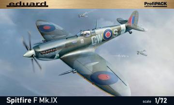 Spitfire F Mk.IX - ProfiPACK Edition · EDU 70122 ·  Eduard · 1:72