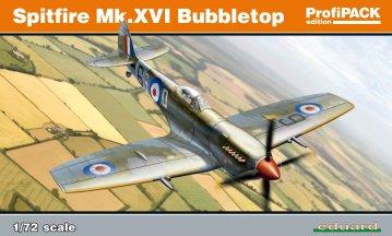 Spitfire Mk.XVI Bubbletop - ProfiPACK Edition · EDU 70126 ·  Eduard · 1:72