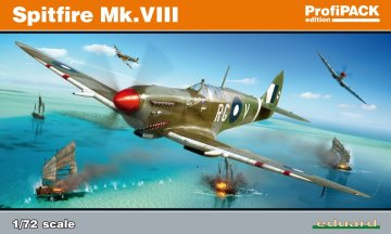 Spitfire Mk.VIII - ProfiPACK Edition · EDU 70128 ·  Eduard · 1:72