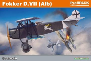 Fokker D.VII(Alb) - Profipack · EDU 70134 ·  Eduard · 1:72