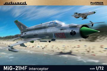 MiG-21MF interceptor - Profipack Edition · EDU 70141 ·  Eduard · 1:72