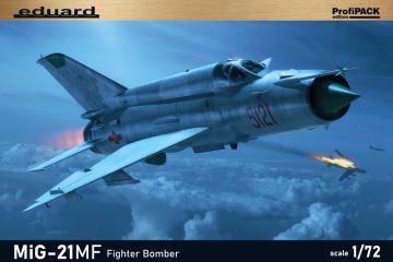 MiG-21MF Fighter Bomber - ProfiPACK Edition · EDU 70142 ·  Eduard · 1:72