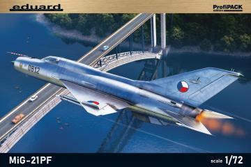 MiG-21PF - Profipack · EDU 70143 ·  Eduard · 1:72