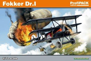 Fokker Dr.I  - ProfiPACK Edition · EDU 7039 ·  Eduard · 1:72