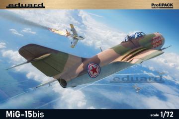 MiG-15bis - Profipack · EDU 7059 ·  Eduard · 1:72