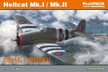 Hellcat Mk.I/MK.II - Dual Combo - ProfiPACK Edition · EDU 7078 ·  Eduard · 1:72