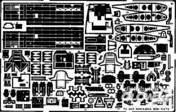 Nakajima B5N Kate · EDU 72240 ·  Eduard · 1:72