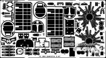 C-47 Dakota · EDU 72252 ·  Eduard · 1:72