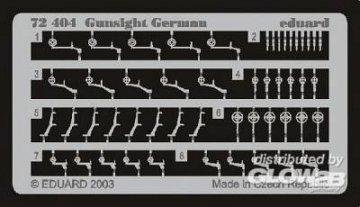 Gunsight German · EDU 72404 ·  Eduard · 1:72