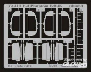 F-4 Phantom II - F.O.D. · EDU 72411 ·  Eduard · 1:72