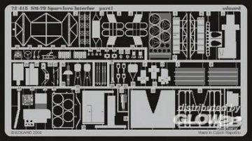 SM-79 Sparviero - Interior · EDU 72415 ·  Eduard · 1:72