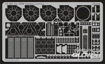 Focke-Wulf Fw 200 C Condor - Exterior [Revell] · EDU 72463 ·  Eduard · 1:72