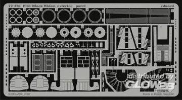 P-61 Black Widow - Exterior [Dragon] · EDU 72476 ·  Eduard · 1:72