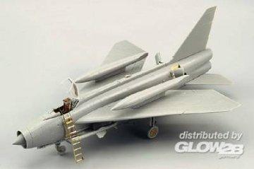 BAC Lightning F.1A/F.2 - Exterior [Trumpeter] · EDU 72497 ·  Eduard · 1:72