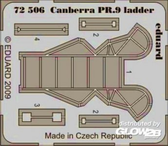 Canberra PR.9 - Ladder [Airfix] · EDU 72506 ·  Eduard · 1:72
