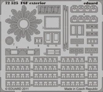 F6F - Exterior [Cyber Hobby] · EDU 72525 ·  Eduard · 1:72