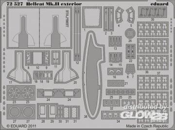 Hellcat Mk.II - Exterior [Eduard] · EDU 72527 ·  Eduard · 1:72