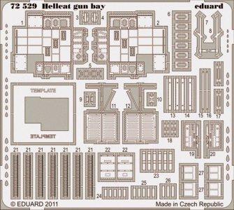 Hellcat - Gun bay [Eduard] · EDU 72529 ·  Eduard · 1:72