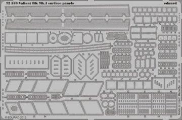 Valiant BK.MK.I - Surface panels S.A.[Airfix] · EDU 72539 ·  Eduard · 1:72