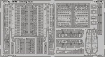 SB2C - Landing flaps [Cyber Hobby] · EDU 72547 ·  Eduard · 1:72