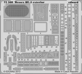 Wessex HU.5 - Exterior [Italeri] · EDU 72560 ·  Eduard · 1:72