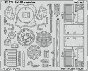 F-35B - Exterior [Fujimi] · EDU 72571 ·  Eduard · 1:72