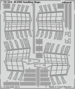 II-2M3 - Landing flaps [Tamiya] · EDU 72573 ·  Eduard · 1:72