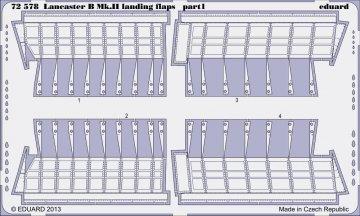 Lancaster B Mk.II - Landing flaps [Airfix] · EDU 72578 ·  Eduard · 1:72