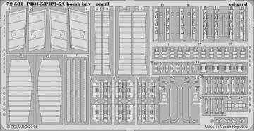 PBM-5/PBM-5A Martin Mariner - Bomb bay [Minicraft  Model Kits] · EDU 72581 ·  Eduard · 1:72