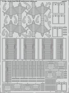 Sundeland Mk.III maintenence platform [Italeri] · EDU 72586 ·  Eduard · 1:72