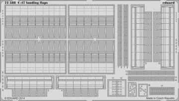 Douglas C-47 A/D Skytrain - Landing flaps [Airfix] · EDU 72588 ·  Eduard · 1:72