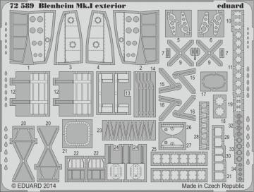 Bristol Blenheim Mkl - Exterior [Aifrix] · EDU 72589 ·  Eduard · 1:72