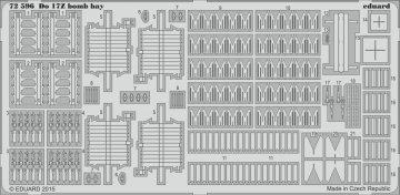 Dornier Do17Z - Bomb bay [Airfix] · EDU 72596 ·  Eduard · 1:72