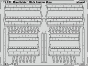 Beaufighter Mk.X - Landing flaps [Airfix] · EDU 72603 ·  Eduard · 1:72