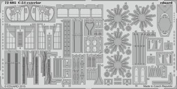 C-54 Skymaster - Exterior [Revell] · EDU 72605 ·  Eduard · 1:72