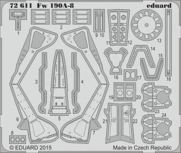 Focke Wulf Fw 190 A-8 [Eduard] · EDU 72611 ·  Eduard · 1:72