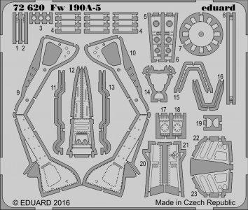 Focke-Wulf Fw 190 A-5 [Eduard] · EDU 72620 ·  Eduard · 1:72