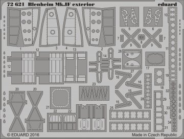 Bristol Blenheim Mk.IVF - Exterior [Airfix] · EDU 72621 ·  Eduard · 1:72