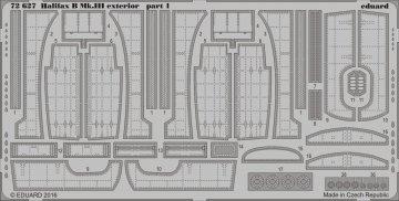 Handley Page Halifax B Mk.III - Exterior [Revell] · EDU 72627 ·  Eduard · 1:72