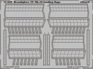Bristol Beaufighter TF Mk.X  - Landing flaps [Airfix] · EDU 72628 ·  Eduard · 1:72