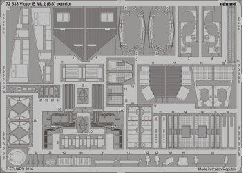 Handley Page Victor B Mk.2 (BS) - Exterior [Airfix] · EDU 72638 ·  Eduard · 1:72