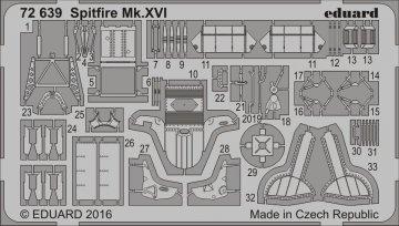 Spitfire Mk.XVI [Eduard] · EDU 72639 ·  Eduard · 1:72