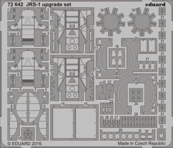 JRS-1 upgrade set [Eduard] · EDU 72642 ·  Eduard · 1:72