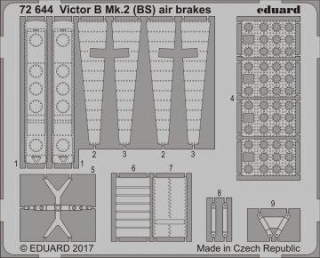 Victor B Mk.2 (BS) - Air brakes [Airfix] · EDU 72644 ·  Eduard · 1:72