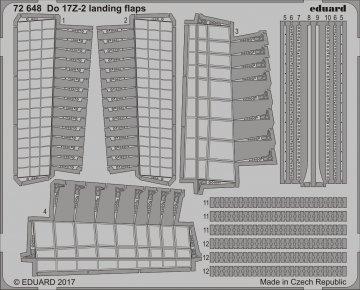 Dornier Do 17 Z-2 - Landing flaps [ICM] · EDU 72648 ·  Eduard · 1:72