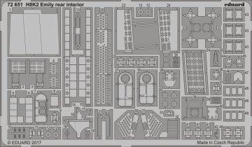 Kawanishi H8K2 Emily - Rear - Interior [Hasegawa] · EDU 72651 ·  Eduard · 1:72